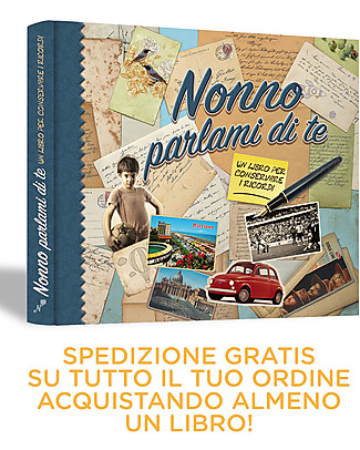 Nonna Nonno Grandad - share your memories with me! Book in Italian only (Nonno Parlami di Te) Baby's First Albums
