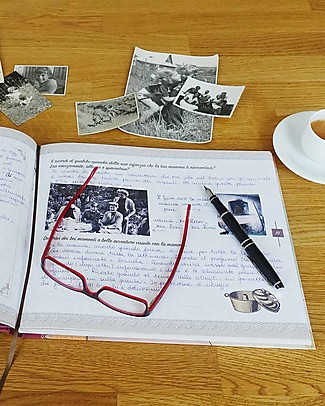 Nonna Nonno Grandma Please Share your Memories with Me! Book in Italian only (Nonna Parlami di Te) Baby's First Albums