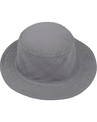 Numero 74 Andy Bucket Hat, Stone Grey - Organic cotton Sunhats