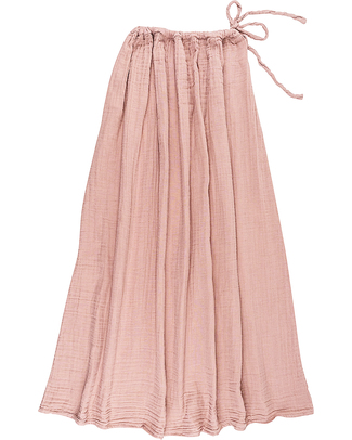 Numero 74 Ava Long Skirt - Dusty Pink - 100% Double Muslin Cotton Skirts
