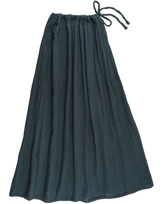 Numero 74 Ava Long Skirt - Ice Blue - Double Cotton Muslin Skirts