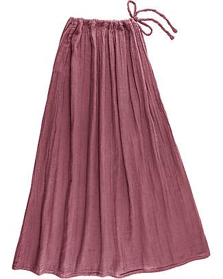 Numero 74 Ava Long Skirt Mum, Baobab Rose - 100% organic cotton Skirts
