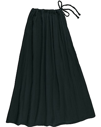 Numero 74 Ava Long Skirt Mum, Dark Grey - 100% organic cotton Skirts
