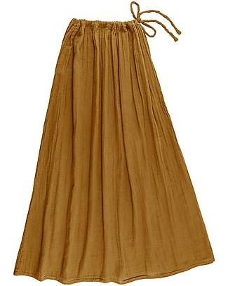 Numero 74 Ava Long Skirt Mum, Gold - 100% organic cotton Skirts