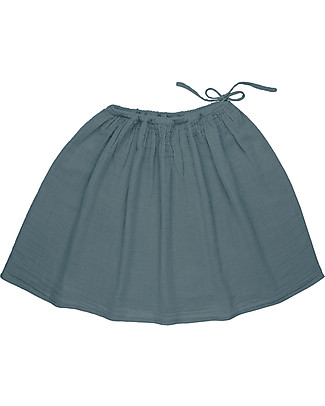 Numero 74 Ava Mid Skirt Mum, Ice Blue - 100% organic cotton Skirts