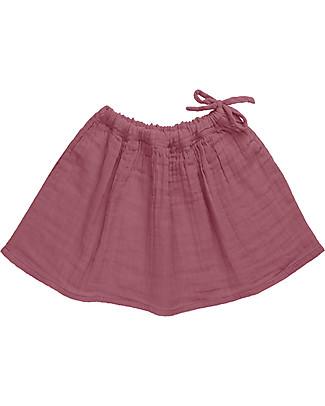 Numero 74 Ava Midi Skirt Baby & Kid, Baobab Rose (3-4 years) - 100% organic cotton Skirts