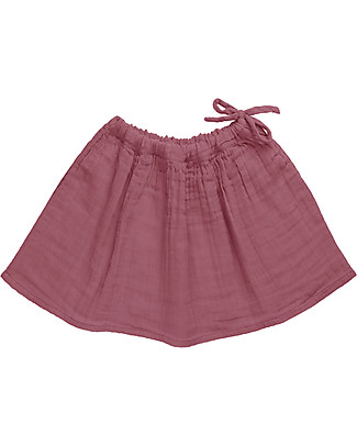 Numero 74 Ava Midi Skirt Baby & Kid, Baobab Rose (3-4 years) - 100% organic cotton Skirts