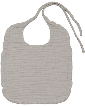 Numero 74 Baby Bib Round Powder - Double Cotton Muslin Snap Bibs