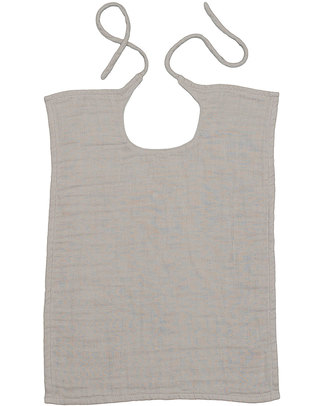 Numero 74 Baby Bib Square Powder - Double Cotton Muslin Snap Bibs