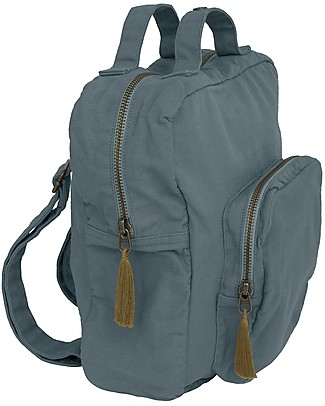 Numero 74 Backpack, Ice Blue - 100% Organic cotton Small Backpacks