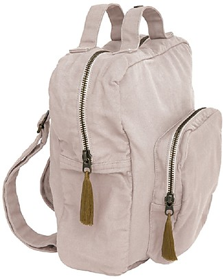 Numero 74 Backpack, Powder - 100% Organic cotton Small Backpacks