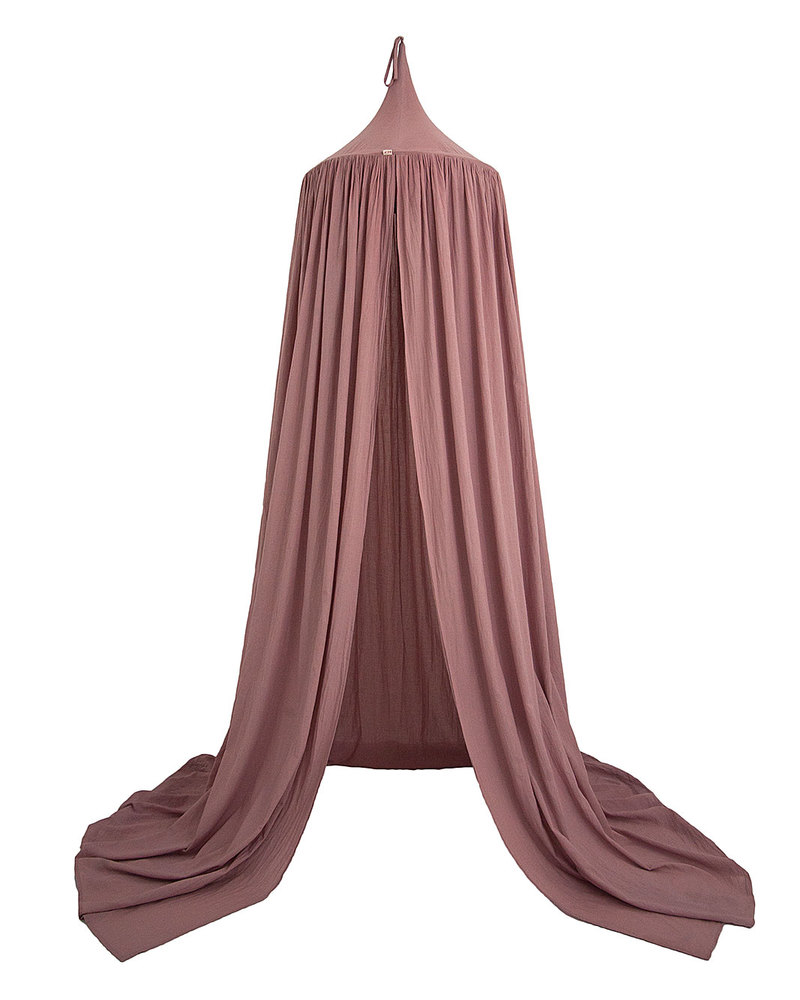 Numero 74 Bed Canopy - Dusty Pink - 100% Cotton Muslin Canopies  sc 1 st  Family Nation & Numero 74 Bed Canopy - Dusty Pink - 100% Cotton Muslin unisex ...