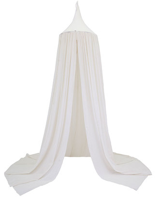 Numero 74 Bed Canopy - White - 100% Cotton Muslin Canopies