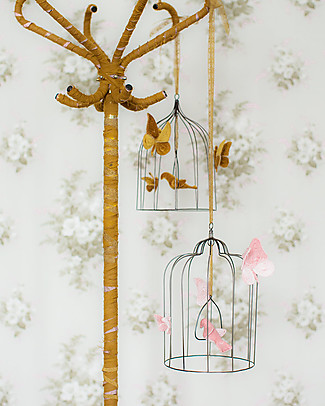 Numero 74 Bohemian Metal  Birdcage - Medium - Dusty Pink #S007 - Limited Edition Room Decorations