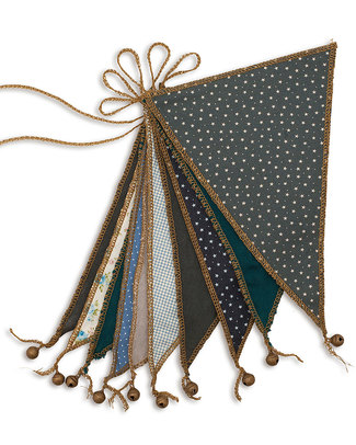 Numero 74 Bunting Garland Mix Blue - 2.5 metres Bunting