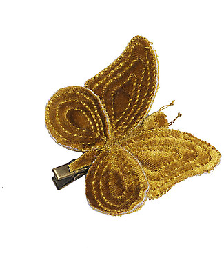 Numero 74 Butterfly Hair Clip - Gold - Perfect Party Favour!  Party Favours