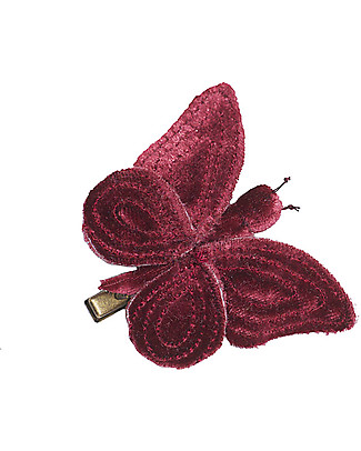 Numero 74 Butterfly Hair Clip - Red -  Perfect Party Favour!  Party Favours