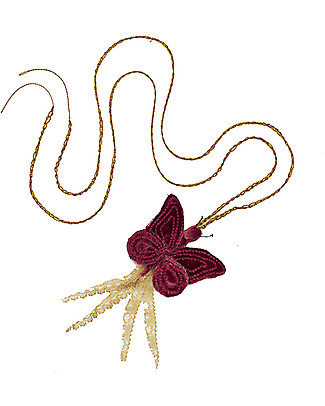 Numero 74 Butterfly Necklace - Red - Perfect Party Favour! Party Favours