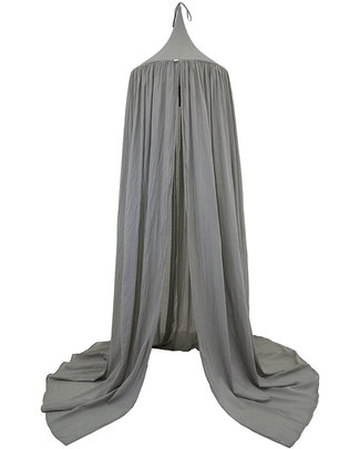 Numero 74 Canopy - Silver Grey - Cotton Muslin Canopies