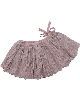 Numero 74 Carolina, Tutu Lace Mini Skirt, Dusty Pink - 3/5 years Skirts