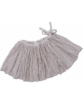Numero 74 Carolina Tutu Lace Mini Skirt, Powder - 3/5 years Skirts