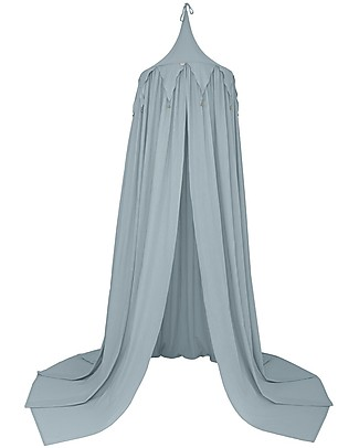 Numero 74 Circus Bunting Canopy, Sweet Blue - 100% organic cotton Canopies
