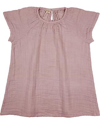 Numero 74 Clara Dress Baby & Kid, Dusty Pink (3-4 years) - 100% organic cotton Dresses