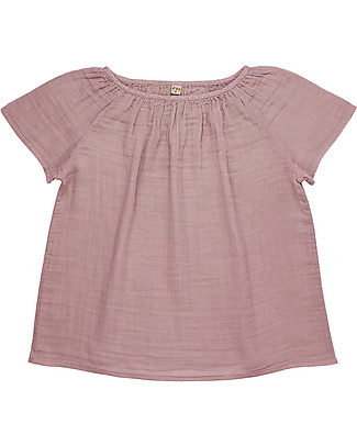 Numero 74 Clara Top Mum, Dusty Pink - 100% organic cotton T-Shirts And Vests