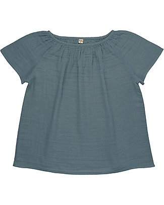 Numero 74 Clara Top Mum, Ice Blue - 100% organic cotton T-Shirts And Vests