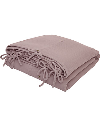 Numero 74 Cover Set, Dusty Pink - 140x200 cm - 100% organic cotton Duvet Sets