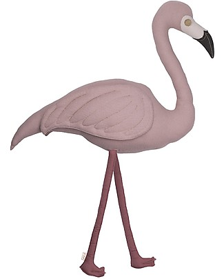 Numero 74 Cushion Polly Flamingo - Organic cotton null
