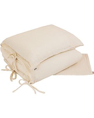 Numero 74 Duvet Cover Set - 100x140 cm - Natural Duvet Sets