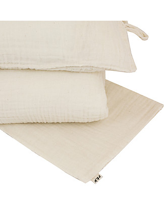 Numero 74 Duvet Cover Set - 100x140 cm - Natural Duvet Sets