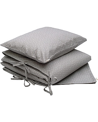Numero 74 Duvet Cover Set - 100x140 cm - Star - Silver Grey Duvet Sets