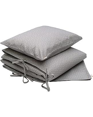 Numero 74 Duvet Cover Set - 100x140 cm - Star - Silver Grey Duvet Sets
