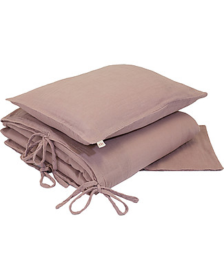 Numero 74 Duvet Cover Set - 140x200 cm - Dusty Pink Duvet Sets