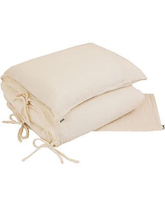 Numero 74 Duvet Cover Set - 140x200 cm - Natural Duvet Sets