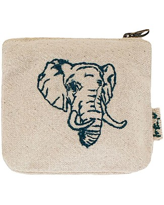 Numero 74 Elephant Mini Purse in Cotton - Perfect Party Favour Party Favours