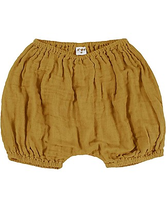 Numero 74 Emi Bloomer Shorts - Gold Shorts