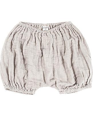 Numero 74 Emi Bloomer Shorts, Powder - Organic Cotton (3-6 months) Shorts