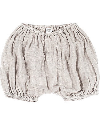 Numero 74 Emi Bloomer Shorts, Powder - Organic Cotton (9-12 months) Shorts