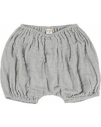 Numero 74 Emi Bloomer Shorts - Silver Grey Shorts