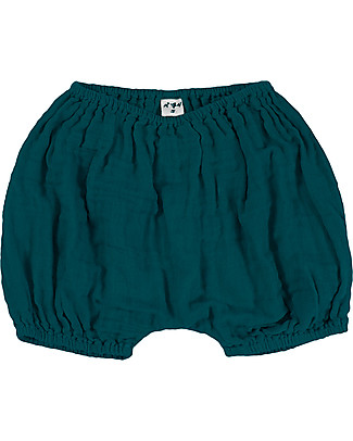 Numero 74 Emi Bloomer Shorts - Teal Blue Shorts