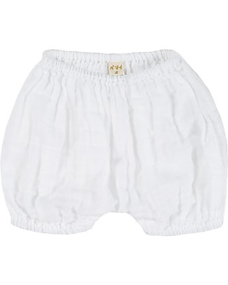 Numero 74 Emi Bloomer Shorts - White Shorts
