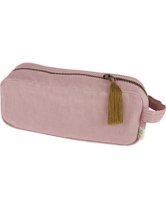 Numero 74 Essential Purse Medium, Dusty Pink - Organic cotton Pencil Cases