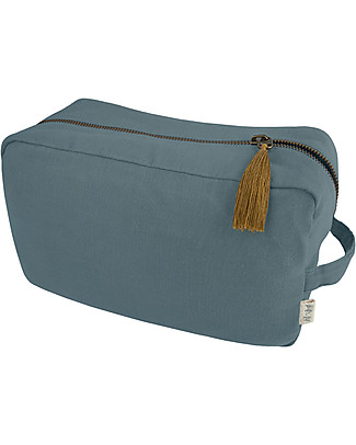 Numero 74 Essential Purse Medium, Ice Blue - Organic cotton Pencil Cases