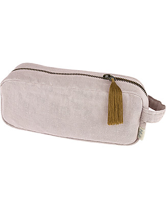 Numero 74 Essential Purse Medium, Powder - Organic cotton Pencil Cases