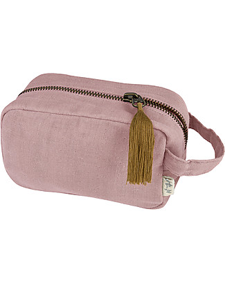 Numero 74 Essential Purse Small, Dusty Pink - Organic cotton Pencil Cases