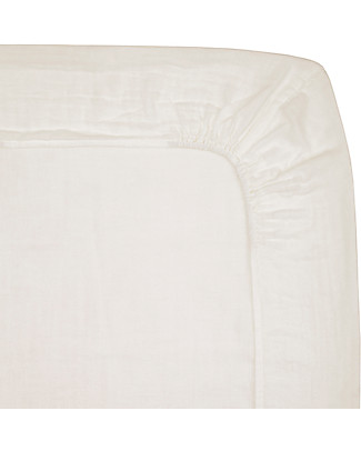 Numero 74 Fitted Changing Pad Cover 50x70 cm, Natural - Cotton - Includes 2 small swaddles Changing Mats And Covers
