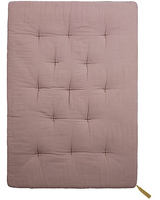 Numero 74 Futon 75x110 cm - Cotton - Dusty Pink and Gold Embroidery Mattresses